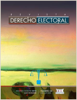 Como Hacer Una Hoja De Vida Digital Rde N 26 by Revista De Derecho Electoral issuu