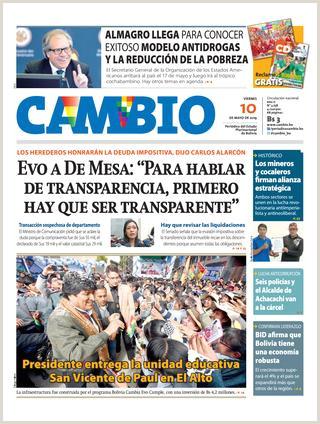 Como Hacer Una Hoja De Vida En Bolivia Edici³n 10 05 19 by Cambio Peri³dico Del Estado