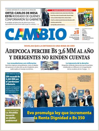 Como Hacer Una Hoja De Vida En Bolivia Edicion 28 06 19 by Cambio Peri³dico Del Estado
