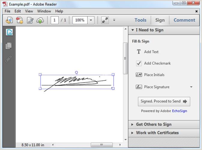 C³mo firmar documentos sin tener que imprimirlos y escanearlos