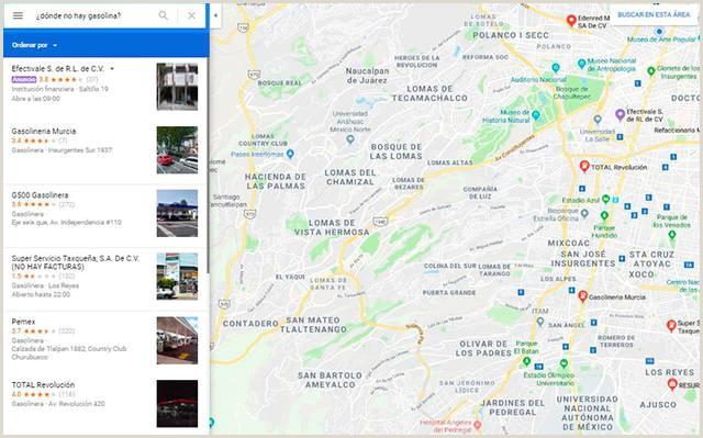 Como Hacer Una Hoja De Vida En Google Drive Google Maps Te Dice En Qué Estaciones Hay Gasolina El sol
