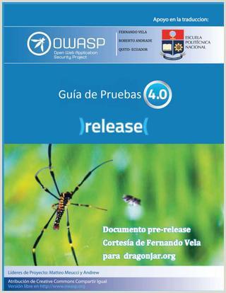 Guia de pruebas OWASP 4 0 Espa±ol by DragoN JAR issuu