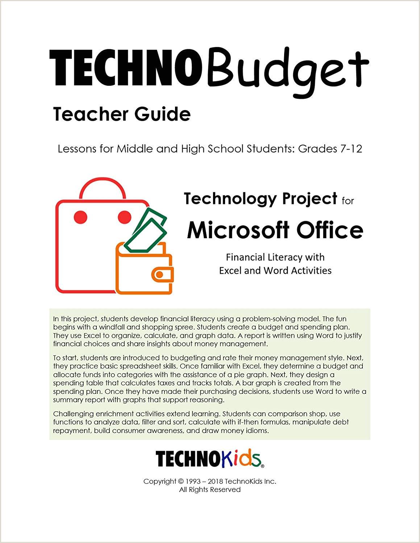 TechnoBud Lecciones de finanzas personales presupuesto