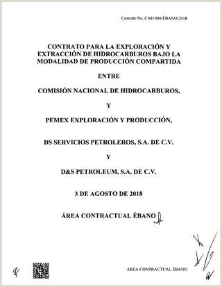 Contrato para la exploraci³n y extracci³n de hidrocarburos