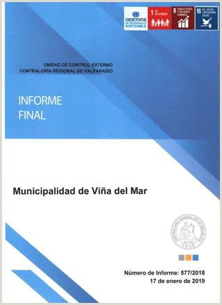 Como Hacer Una Hoja De Vida formato 2018 Informe Contralora Municipalidad De Vi±a Del Mar by El