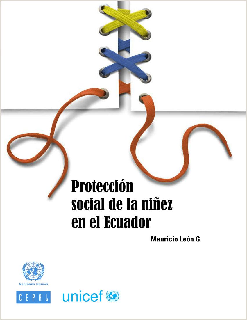 PDF Protecci³n social de la ni±ez en el Ecuador