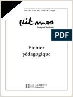 Ritmos Tle Espagnol Livre de l él¨ve Edition 2006