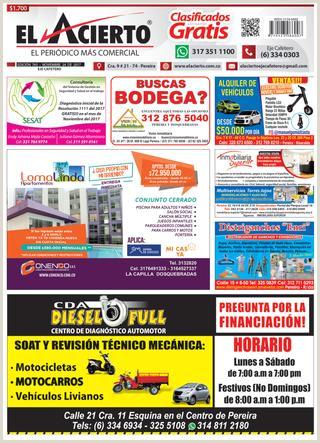 Pereira 765 24 de noviembre 2017 by El Acierto issuu