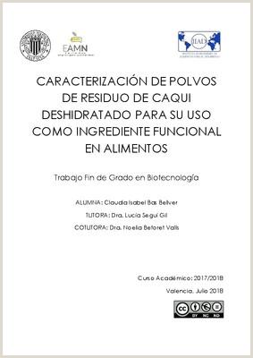 "CARACTERIZACI""N DE POLVOS DE RESIDUO DE CAQUI"
