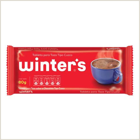 Como Hacer Una Hoja De Vida Funcional Chocolate Para Taza Winter S Bolsa 80gr Supermercado