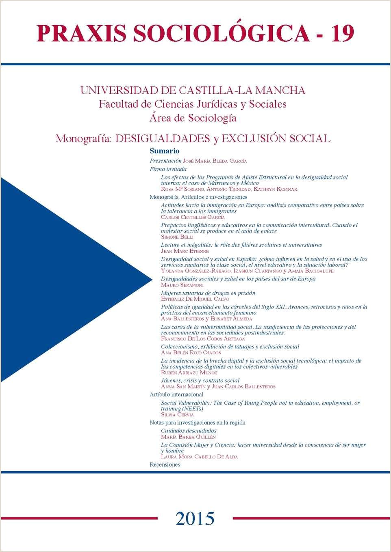 Calaméo Praxis Sociol³gica 2015 nº19