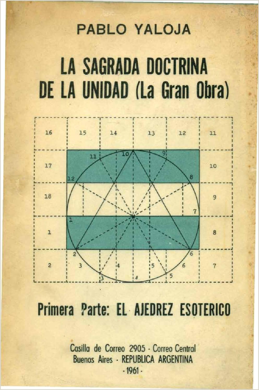 LA SAGRADA DOCTRINA DE LA UNIDAD GRANDE OBRA by Biblioteca
