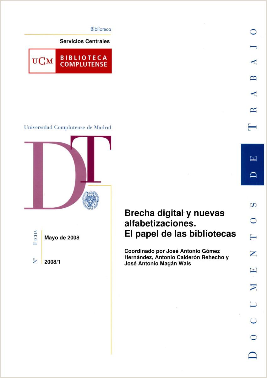 PDF Brecha digital y nuevas alfabetizaciones El papel de