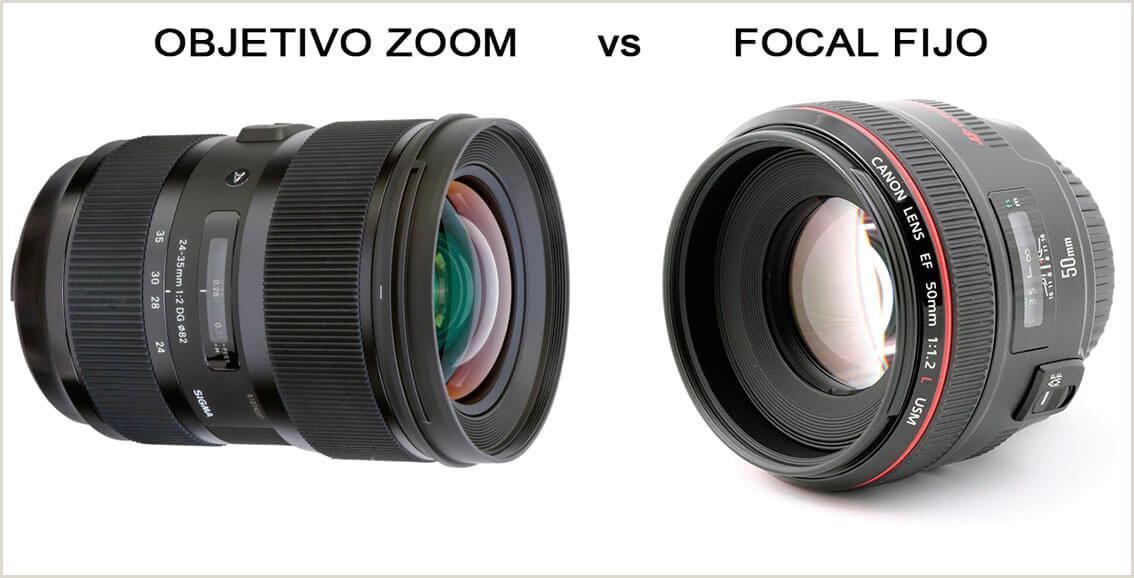 Objetivos de focal fija vs Objetivos Zoom