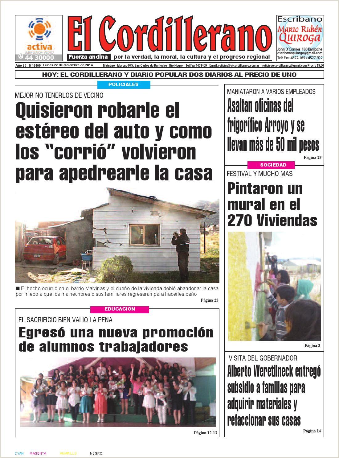 Como Hacer Una Hoja De Vida Por Gmail 22 De Diciembre De 2014 by El Cordillerano issuu
