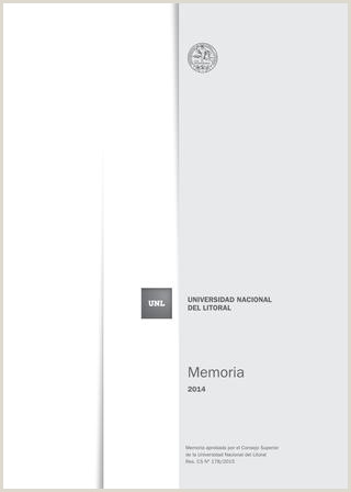Como Hacer Una Hoja De Vida Sencilla Memoria Institucional 2014 by Universidad Nacional Del