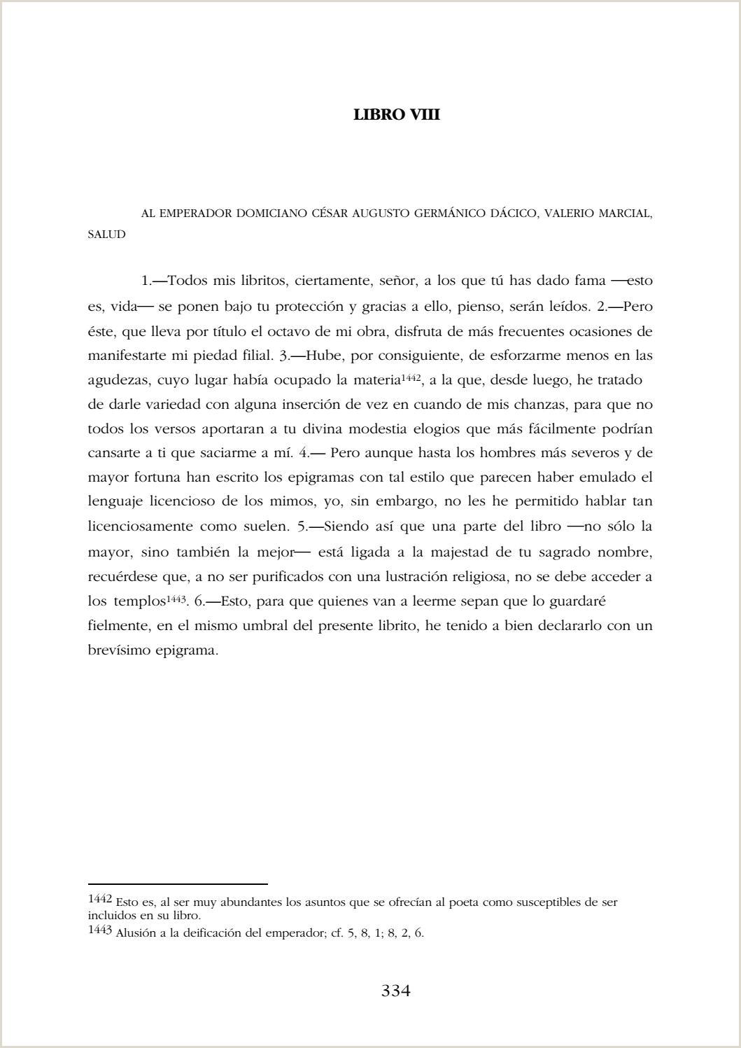 Como Hago Una Hoja De Vida Minerva Epigramas De Marco Valerio Marcial Págs 334 644 by