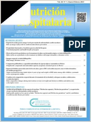 Nutrici³n Hospitalaria Vol 28 N º 1 Enero Febrero 2013