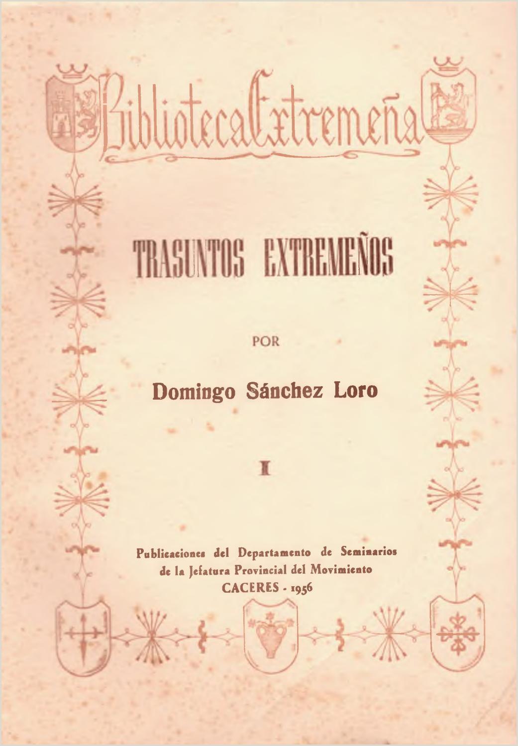 Como Llenar Bien Una Hoja De Vida Minerva Trasuntos Extreme±os Por Domingo Sánchez Loro by Biblioteca