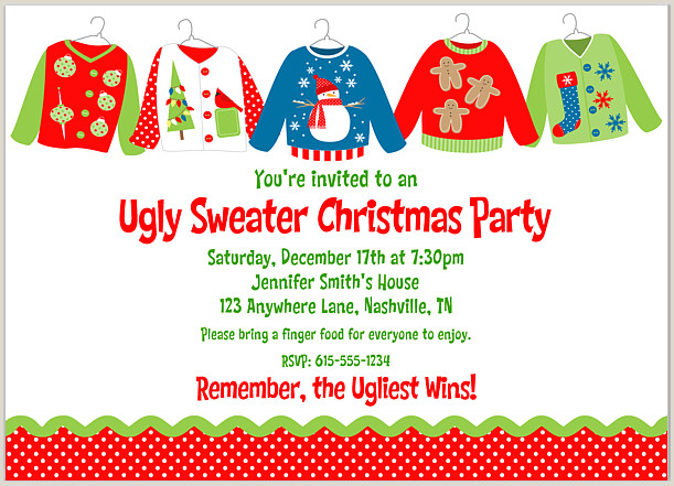 Pin on Ugly Christmas Sweater Party