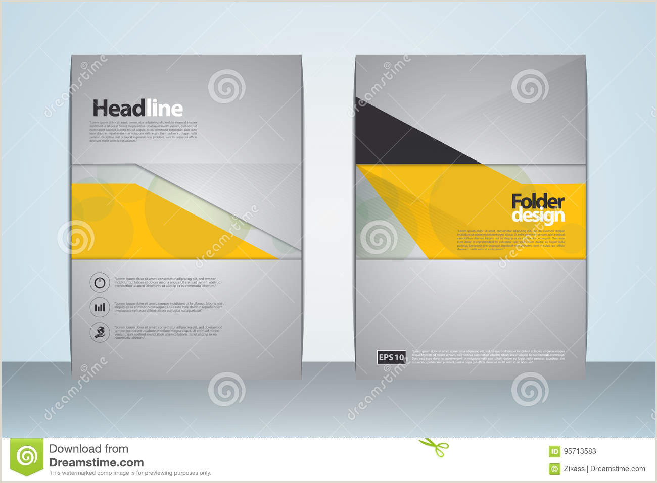 2017 A4 Cover Template stock illustration Illustration of