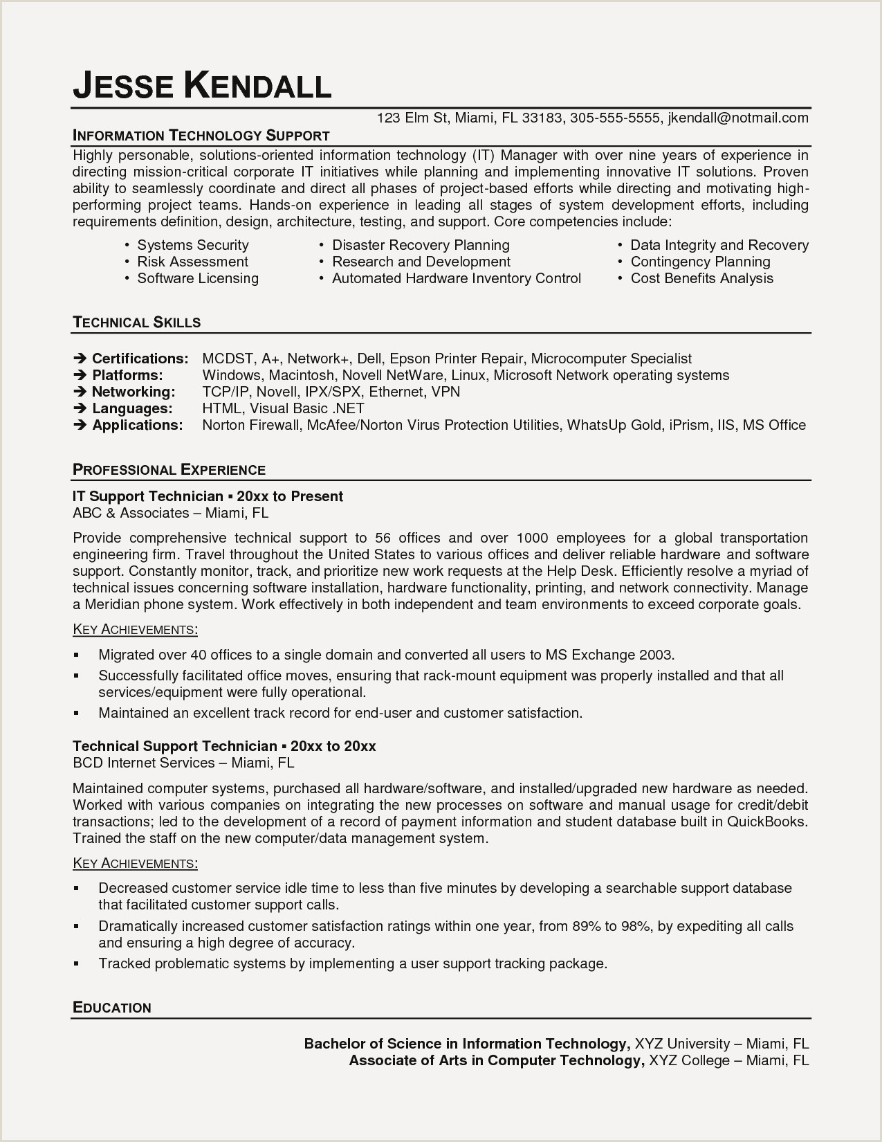 Computer Science Internship Resume Best Puter Science Intern Resume