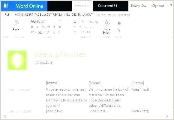 brainstorm web template