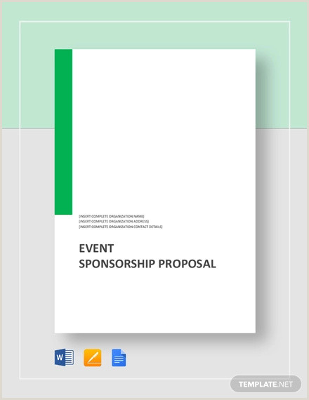 Concert Sponsorship Proposal Template 36 event Proposal Examples Pdf Doc Psd