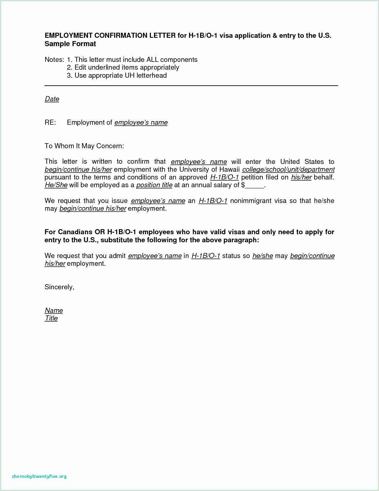 Cover Letter for H1b Sponsorship Inspirational formal Letter