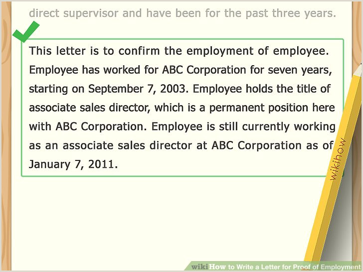 Confirmation Sponsor Letter Example How to Write A Letter for Proof Of Employment with Sample