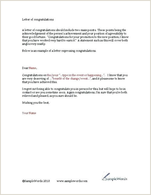 Congratulatory Letter for Award Appreciation Letter for Job Fer Thank You to Hr Acceptance