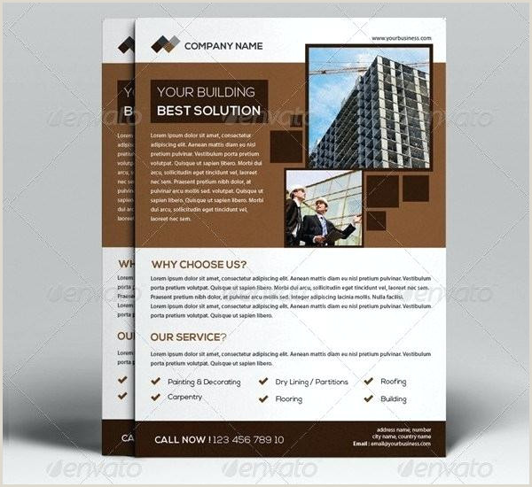 Construction Flyer Templates Free Customize Construction Flyer Templates Line Building