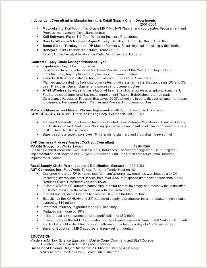 Construction foreman Resume Awesome Inspirational Mechanical