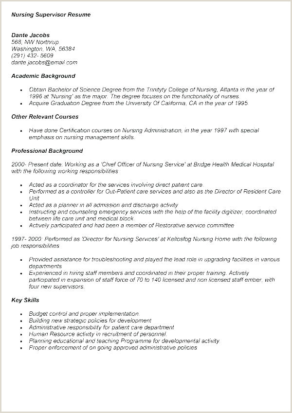 Construction foreman Resume Housekeeping Supervisor Resume Unique Modern Template