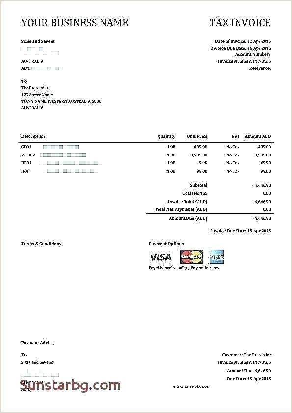 Construction Invoice Sample Free Receipt Template Pdf