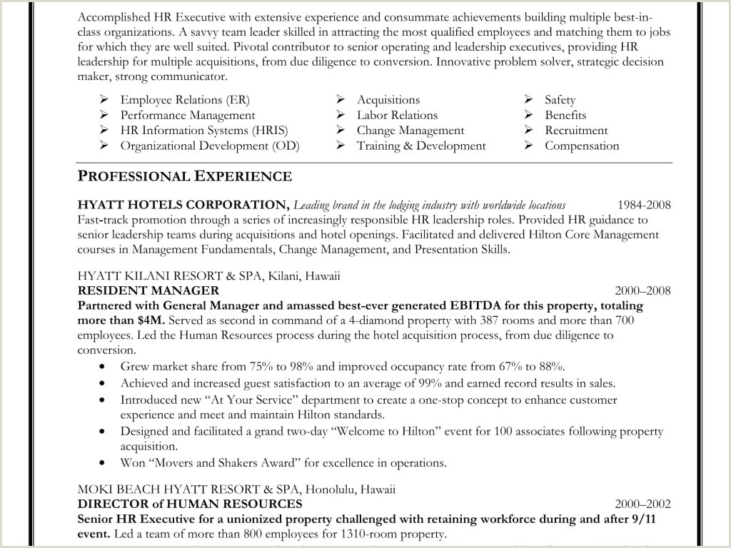 10 Project Manager Resume Sample