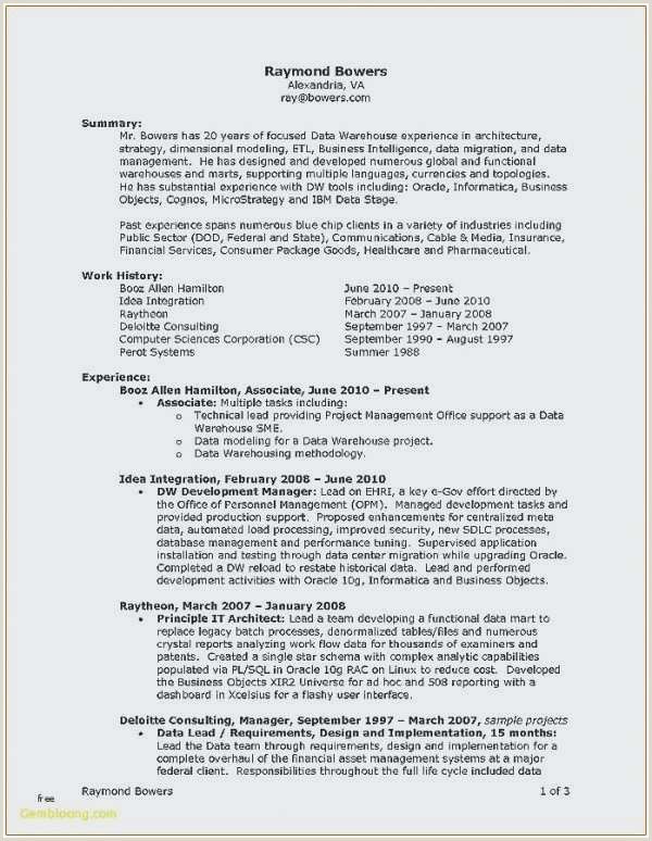 Consulting Cover Letter Deloitte New Deloitte Consulting Resume