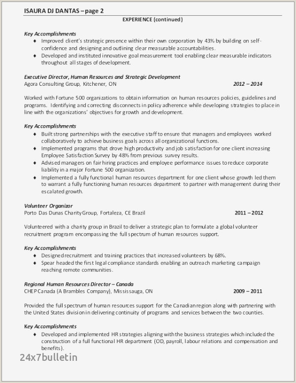 30 Professional Management Consulting Resume Gallery