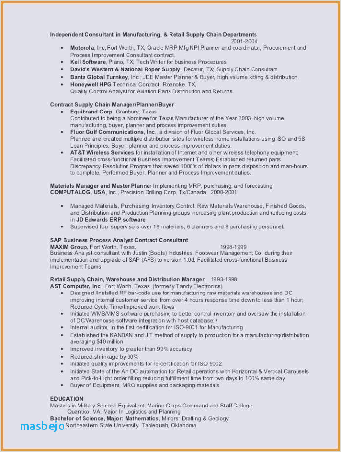 Consulting Resume Examples Professional Financial Analyst