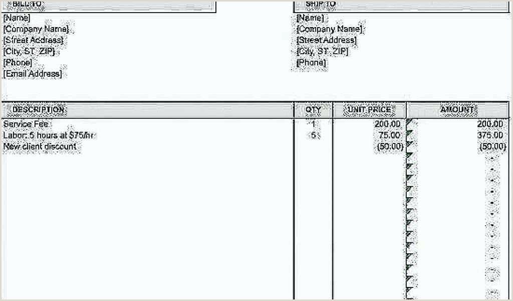 Contractor Invoice Book Contractor Bill Template Labor Invoices Templates