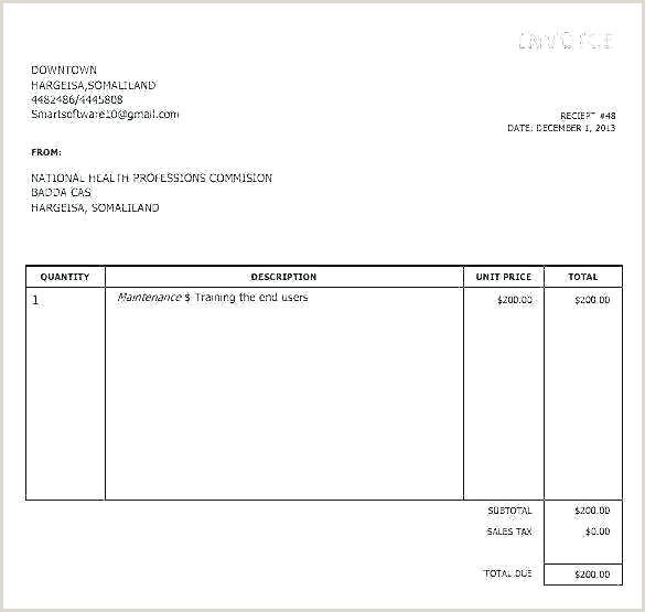 silent auction receipt template