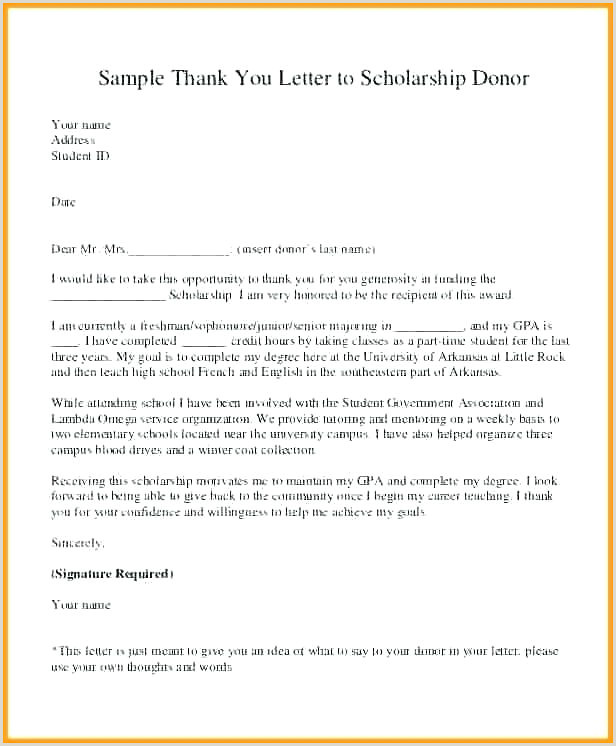Printable Donation Letter Template 3 Free Fundraising