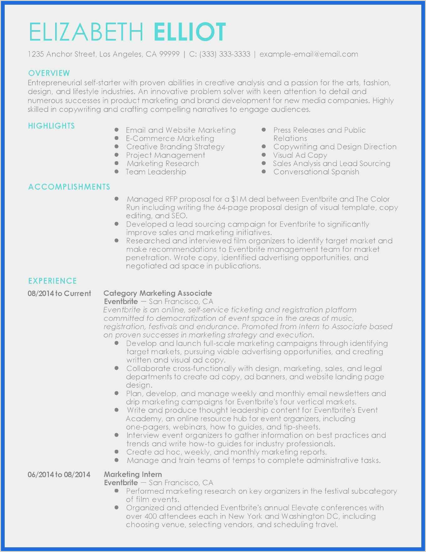 Free Color Resume Templates Examples Resume Draft Sample New