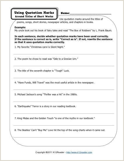 Copyright In A Sentence Story Writing Worksheets