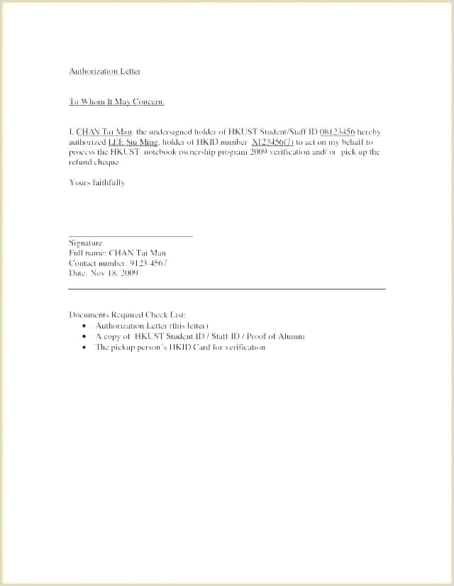 Corporate Authorization Letter Authorization Letter for Business Representation – Innovanza