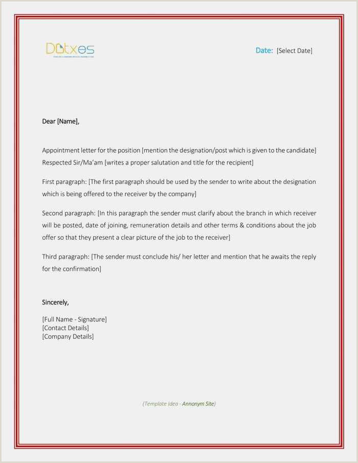 Free Download Letter Re Mendation Template Simple