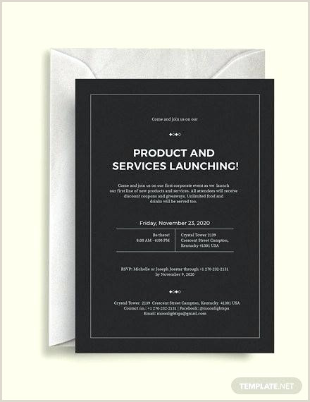 Corporate Invitation Templates Word Apple Pages Event
