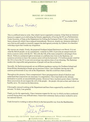 The resignation letters of Theresa May s ministers and aides