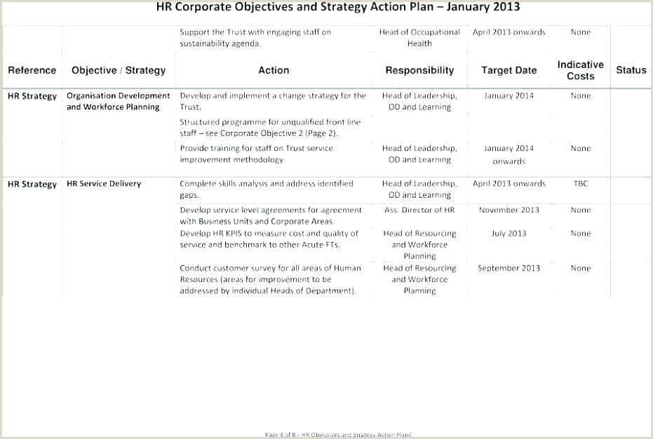 Excel Logistics Sample Action Plan Template Luxury Business