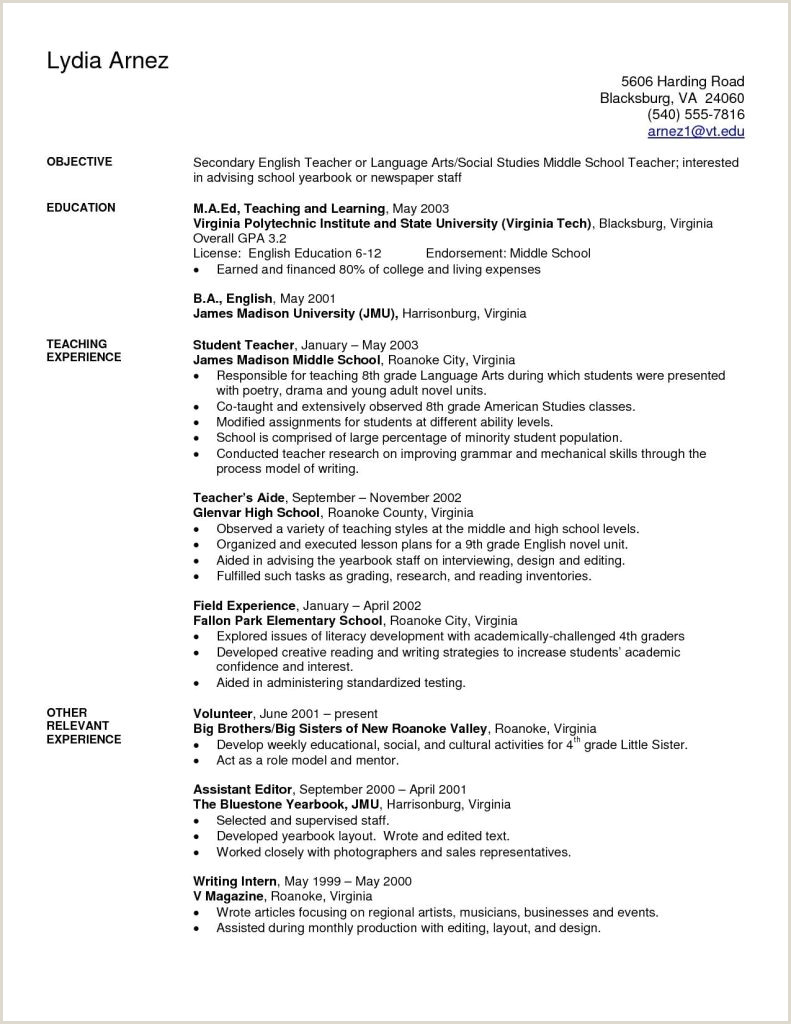 Sample Resume For Cosmetology Teacher Valid 8 Cosmetology